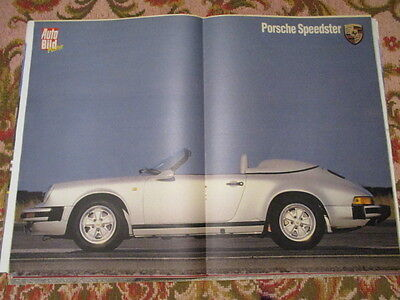 Poster 2 Pages Auto : Porsche Speedster