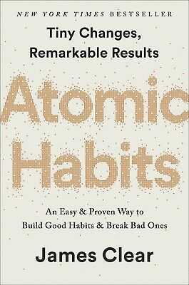 Atomic Habits An Easy & Proven Way to Build Good Habits James Clear Hardcover