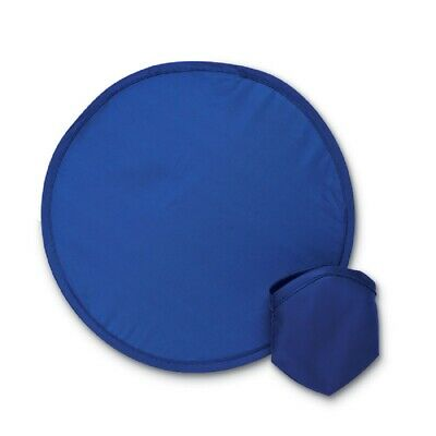 Pack of 2 Fabric Foldable Frisbees, 25cm, 5 Colours, Matching Pouches Included.
