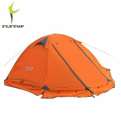 FLYTOP Outdoor Camping Tent For Rest Travel 2 Persons 3 Double Layer Windproof