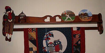 "53"" Quilt Hanger holder wooden hanger rack wall floor quilting sewing"
