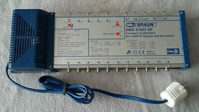 S2 SPAUN DMS 51502 NF compact multiswitch