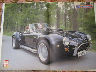 Poster 2 Pages Auto : Ac Cobra Stallion