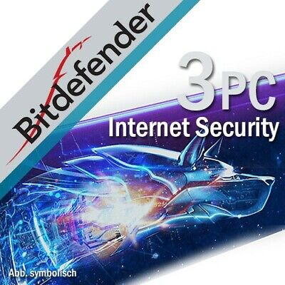 Bitdefender Internet Security 2020 3 Appareils 1 An 2019 FR