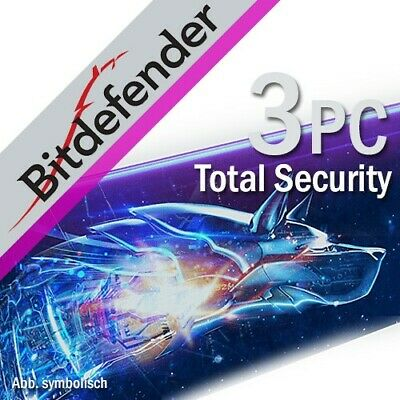 Bitdefender Total Security 2020 3 Appareils 1 An 2019 FR