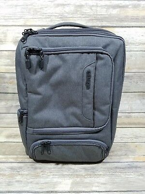 eBags TLS Professional Slim Junior Laptop Backpack Heathered Graphite MINT!