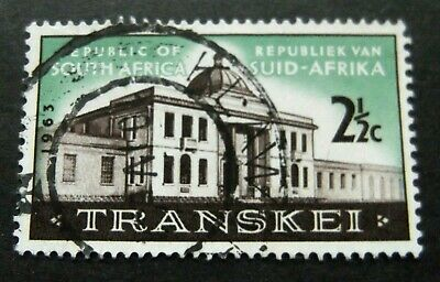 Fine Used / Cancelle Transkei Block10 9253084 South Africa complete Issue