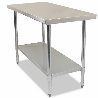 Commercial Stainless Steel Kitchen Work Bench Catering Table