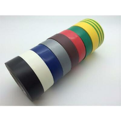ELECTRICAL PVC INSULATION INSULATING TAPE FLAME RETARDANT 19mm x 20m 19mm x 33m