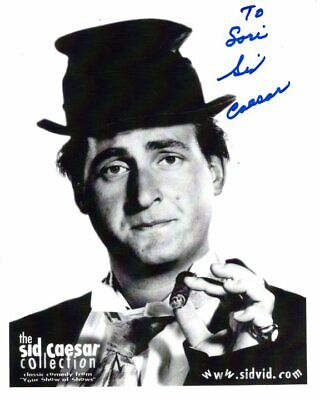 SID CAESAR Autographed Signed YOUR SHOW OF SHOWS Photograph - To Lori