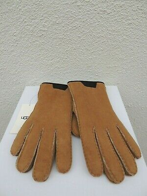 494b232a8f8 UGG FABRIC SMART Gloves Leather Trim Winter Gloves Large Nwt ...