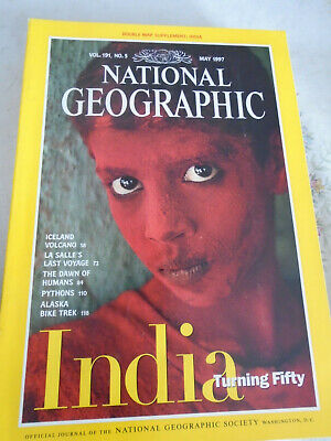 National Geographic magazine May 1997