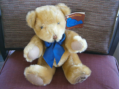 1999 Stuffed Plush No Beans Jointed Bavarian Heritage Bear by Coyne's & Company