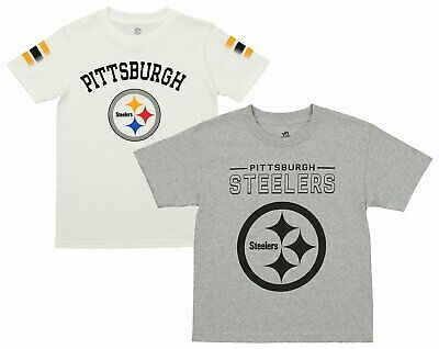 bfa3f701 PITTSBURGH STEELERS OUTERSTUFF NFL Youth Rush Zone Mascot Knit Over ...