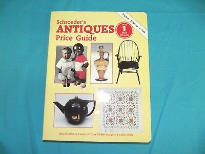 Vintage 1990 Eighth Edition Schroeder's Antiques Price Guide