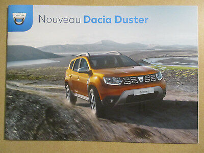Catalogue Auto : Dacia : Nouveau Duster  12/2017