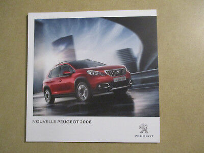 Catalogue Auto : Peugeot : 2008  08/2016