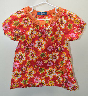 Girls Disney Jeans Top Size Age 3-4 Years