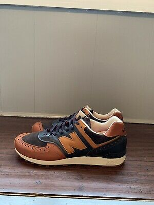 5870d52ad01ac New Balance 576 X Grenson Size 10.5 Made In England Brown Rare High Quality