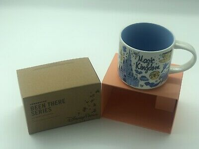 Disney's Magic Kingdom 14 Ounce Been There Starbucks Mug. NWT