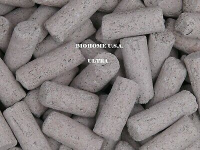 2 Pounds Of Biohome Ultra Filter Media ~Large White~ $12.99 A Pound! Us Seller