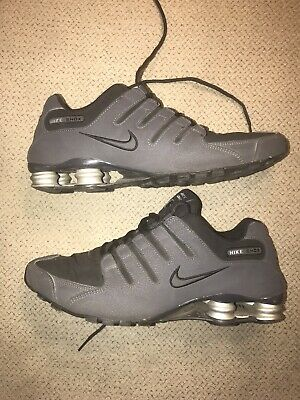 newest 59f17 95753 Nike Shox NZ Size 12 US Men s Black Athletic Running Shoes 378341-048