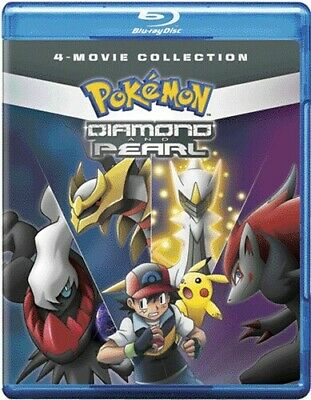 Pokemon Diamond And Pearl Movie Collection Standard [New Blu-ray] 2 Pack