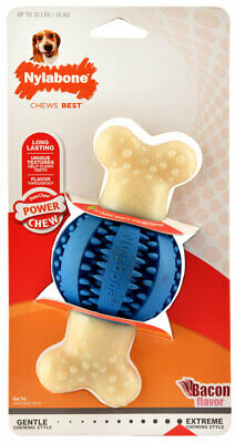 Double Action Dental Chews for Dogs Round Ball Reduces tartar