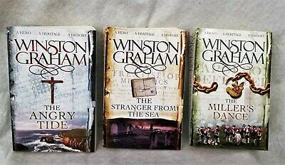 Poldark Complete Series Paperback by Winston Graham Triology 7-9
