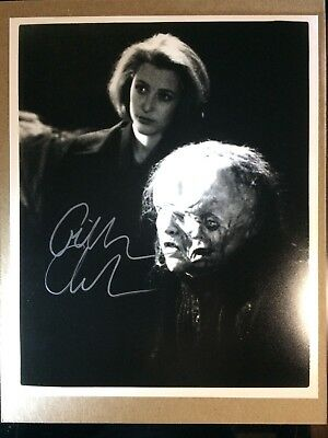 Gillian Anderson X-Files Autographed Signed 8x10 Photo Certified Authentic w/COA