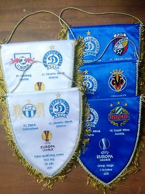 Belarus clubs EC 2014 - 2018 ... handed over in the field RARE captain pennant