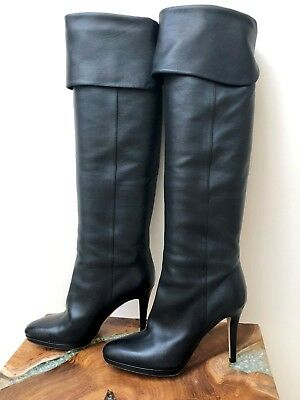 2883bb976c5 JIMMY CHOO HARMONY Over-the-Knee Black Suede Boots (37.5) -  599.00 ...