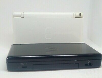 TESTED Nintendo DS Lite console USG-001 white with charger PLUS 4 games and Case