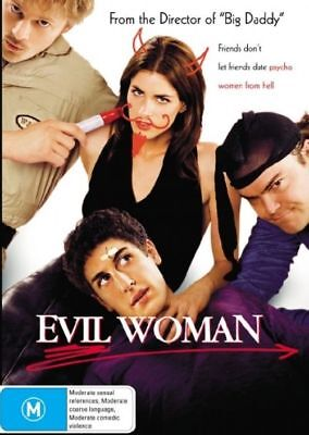 Evil Woman (DVD, 2006) Region 4 Brand NEW & Sealed FREE POSTAGE       Jack Black