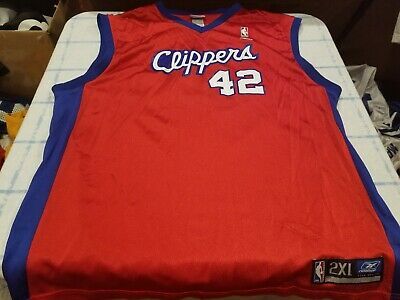 low priced 53c6e 39925 VINTAGE LA CLIPPERS Elton Brand Adidas Jersey Throwback ...