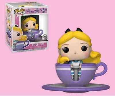 Disney Parks Exclusive - Funko Pop Figure - Alice at the Mad Tea Party #54 - NEW