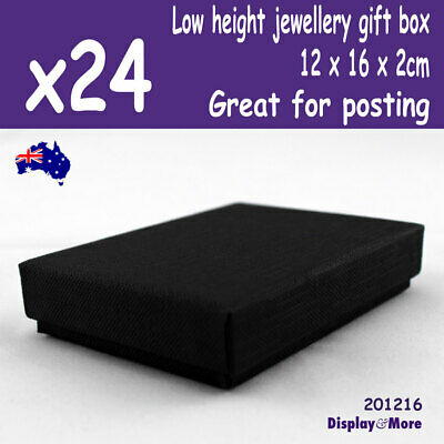 24 Necklace GIFT Boxes | 12x16x2cm THIN | Great for Posting | AUSSIE Seller