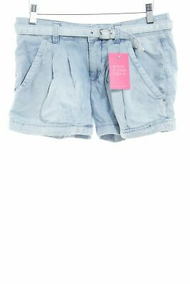 MISS SIXTY Hot pants blu pallido stile casual Donna Taglia IT 38 Pantalone corto