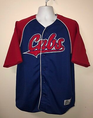 81e8ea813 TRUE FAN CHICAGO Cubs Jersey Derrek LEE 25 Size Youth Large Stitched ...