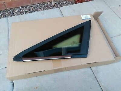 Ford B Max Front Lh Passenger Front Quarter Glass New 1 866 667 *Genuine Ford*