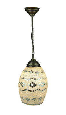 Handcrafted Glass Art Turkish Style Mosaic Pendant Lamp