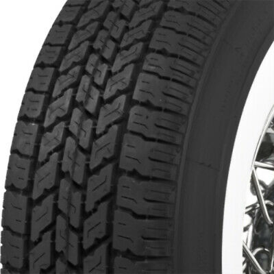 "Coker P235/75R15 3 1/8"" Whitewall Radial Tire"