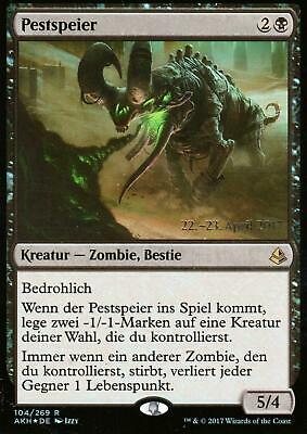 Pestspeier FOIL / Plague Belcher | NM | Prerelease Promo | GER | Magic MTG