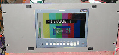 Osee 9.4inch multformat LCD mointor, comp, SDI , HDSDI, audio, waveform