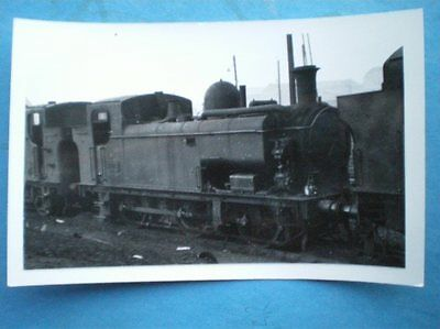 Photo  Gwr 57Xx Loco No 9705 At Old Oak Common
