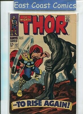 The Mighty Thor #151 - The Destroyer - Very Fine - Marvel