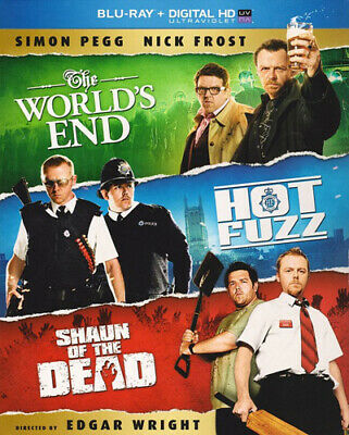 The World's End (2013) / Hot Fuzz / Shaun of the Dead (3 Disc) BLU-RAY NEW