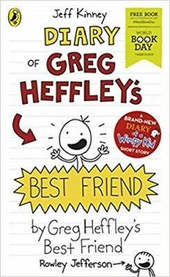Diary Of Greg Heffley's Best Friend By Jeff Kinney NEW Paperback World Book Day