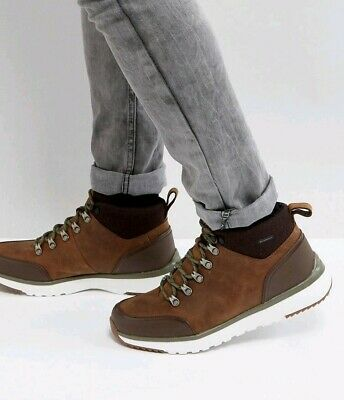 1ca6c4cb43c UGG OLIVERT GRIZZLY Brown Waterproof Leather Hiker Snow Boots Shoes ...