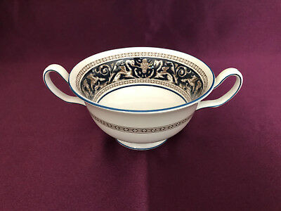 Vintage Wedgwood Florentine Blue W1956  replacement Soup Coupe (only)